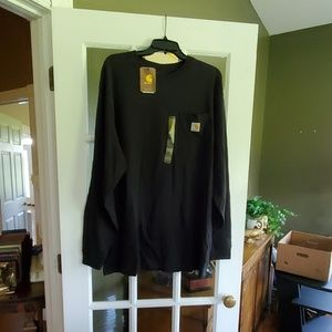 CARHARTT Long Sleeved Black Shirt
